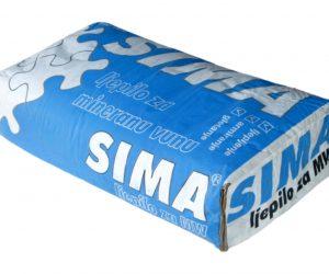 SIMA MW LJEPILO za mineralnu vunu, armiranje i zaglađivanje
